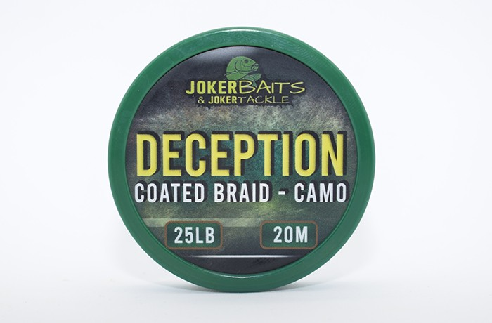 Deception - Camo Coated Braid - 25lb