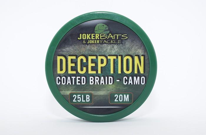 Deception - Camo Coated Braid - 25lb