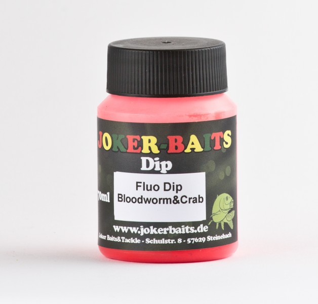 Fluo Dip - Bloodwom&Crab -rot - 70ml