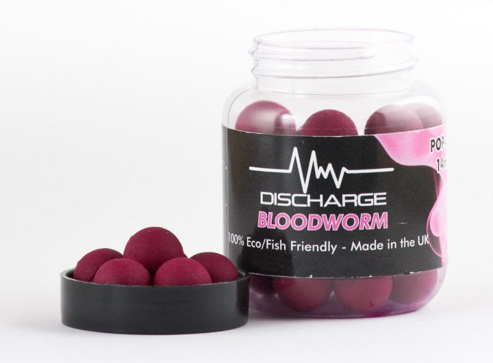 Discharge Bloodworm - Pop Ups - 14mm