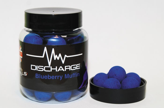Discharge Pop Ups Blueberry-Muffin - 14mm