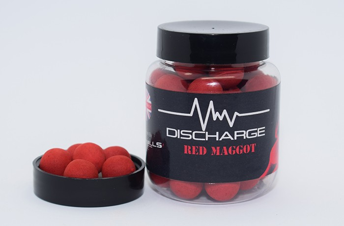 Discharge Red Maggot - Pop Ups - 14mm