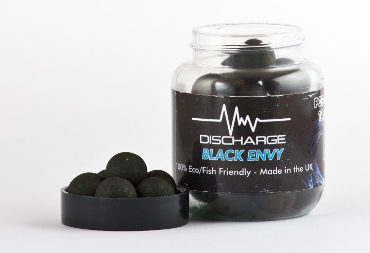 Discharge Pop Ups Black Envy+ -Garlic&Black Pepper - 14mm